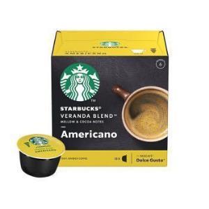 星巴克(Starbucks)咖啡胶囊VerandaBlend美式黑咖啡(大杯)102g(雀巢多趣酷思咖啡机适用)*4件65.4元(合16.35元/件)