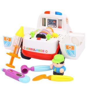 汇乐玩具(HUILETOYS)电动万向玩具车救护车带音乐836*4件140元(合35元/件)