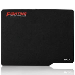 宜适酷(EXCO)防水耐磨橡胶鼠标垫大号加厚5mm办公游戏鼠标垫MP05Plus黑*3件 49.7元(需用券,合16.57元/件)