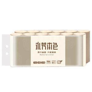 限地区:顺清柔 共享本色卷纸巾 700g/12卷4层*2件 11.9元(2件5折,合5.95元/件)