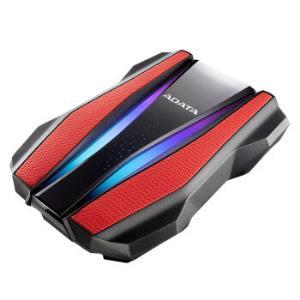 24日12点、新品发售:ADATA威刚移动硬盘HD770GUSB3.2移动硬盘2TB(RGB、IP68) 599元包邮(需预约)