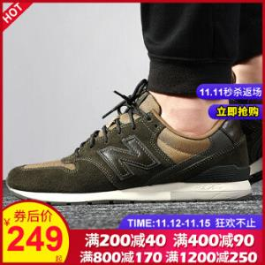 NEWBALANCE男鞋冬季新款运动鞋复古时尚鞋子耐磨舒适透气休闲鞋MRL996MTMRL996MT43/9.5 249元