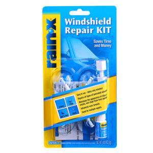 rain-x前挡风玻璃修复液套装汽车玻璃修复玻璃凹陷修复工具含树脂修补液吸盘美国进口汽车用品600001*2件 128元(合64元/件)