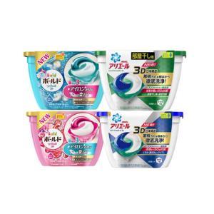 四盒装|Procter&Gamble宝洁日本原装碧浪3D洗衣凝珠抗菌洗衣液球84元