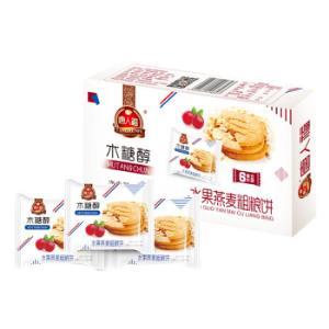 唐人福水果燕麦粗粮饼干200g*10件 69元(合6.9元/件)