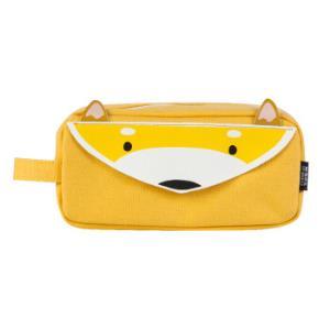 M&G晨光别咬我系列黄色小狐狸大方形笔袋*5件 52.75元(合10.55元/件)