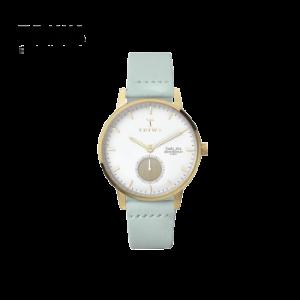 TRIWAIVORYSVALANMINT简约薄荷色皮表带女士腕表女士手表SVST105-SS113113薄荷绿