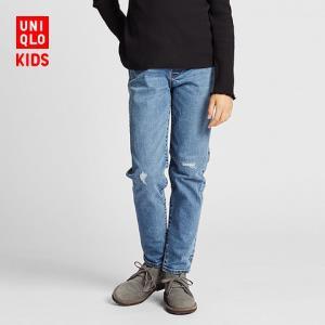 UNIQLO优衣库儿童高弹力牛仔419949