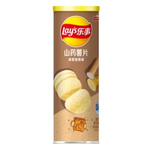 乐事无限山药薯片咸香排骨味90克/罐*3件 15.33元(合5.11元/件)