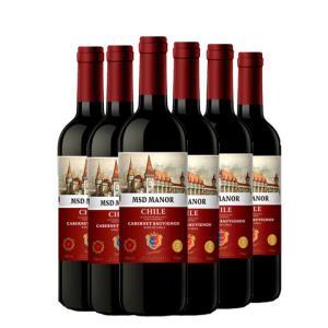 梅赛得干红葡萄酒750ml*6支 99元(需用券)