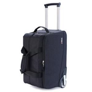 指南客ZNKR逆风者旅行拉杆包男包户外行李袋男休闲拖轮包Z1812黑色*2件    384元(合192元/件)