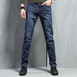 皮尔卡丹203743牛仔裤男弹力舒适休闲时尚直筒刮烂商务男装蓝色29码*3件 340.2元(合113.4元/件)