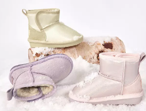 Balabala巴拉巴拉儿童雪地靴 86.3元