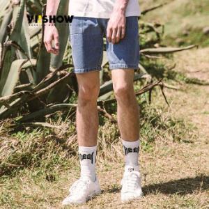 ViiSHOW威秀ND851252男士牛仔五分短裤*3件207.9元(合69.3元/件)