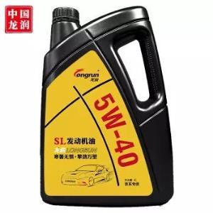longrun 龙润润滑油 发动机润滑油 5W-40 SL级 4L *4件