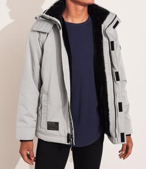 HOLLISTER300628男士毛料内衬夹克 320元