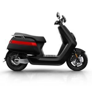 小牛NGT电动摩托车智能锂电两块电池黑红色顶配版19999元