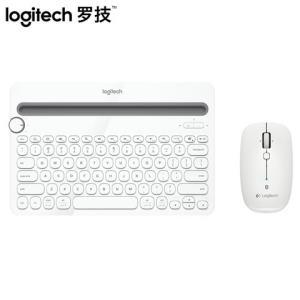 罗技K480无线蓝牙键盘M557/M558鼠标无线键鼠套装笔记本电脑ipad平板安卓surface手机办公通用249元(需用券)
