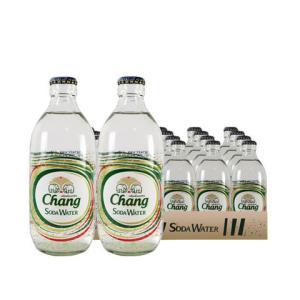象牌Chang苏打水325ml*24瓶整箱大象水无糖苏打水气泡水汽水泰国进口 79元