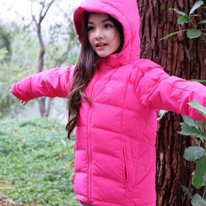 KAILAS童装凯乐石冬季儿童户外运动大衣加厚保暖连帽厚款羽绒外套 344.64元