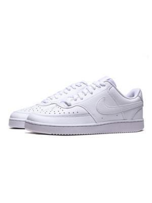 NIKE男鞋板鞋COURT皮质低帮时尚系带休闲运动鞋CD5463 299元(需用券)