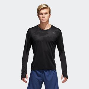 12日0点、双12预告:adidas阿迪达斯CE7289000男子跑步长袖T恤 60元包邮(需用券)