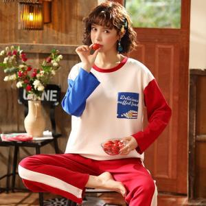 LSNOW伊滕雪女长袖韩版清新学生草莓家居服44.9元(需用券)
