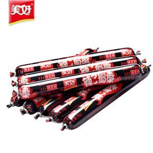美好辣子蜀黍三种口味四川辣味零食烧烤肠火腿肠30g*8支*3袋 16.8元