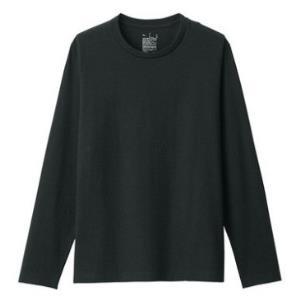 12日0点、双12预告:MUJI无印良品M9AB230男士圆领长袖T恤 低至35.1元