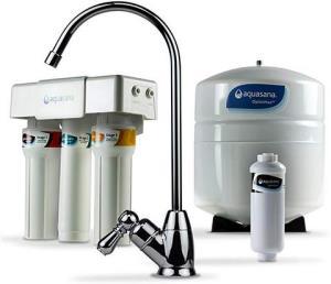 AquasanaAQ-RO-3.56OptimH2O反渗透氟水过滤器铬质    1375.35元