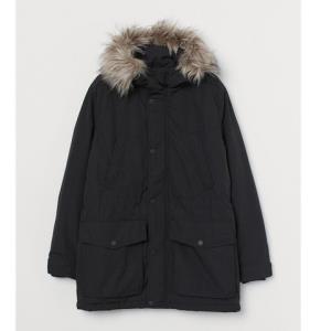 12日0点、双12预告:H&M0819500男士加厚派克大衣 低至274元