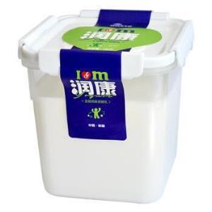 TERUN天润润康方桶老酸奶风味家庭装1kg*8件