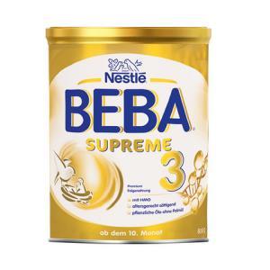 雀巢BEBA至尊版SUPREME两种HMO超高端婴幼儿奶粉3段800g/罐 278元(需用券)