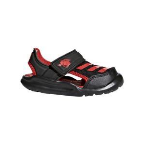 adidaskids阿迪达斯FORTASWIMI男童黑红色凉拖*3件410.49元(合136.83元/件)