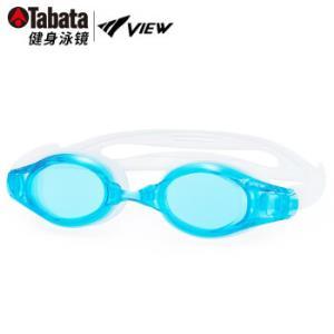TABATAVIEW泳镜高清防雾游泳眼镜大框男女士专业健身休闲装备AM/水蓝色*2件    190.4元(合95.2元/件)