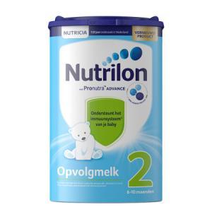 欧洲原装进口诺优能荷兰版荷兰牛栏较大婴儿配方奶粉2段800g易乐罐145元