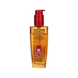 欧莱雅(LOREAL)奇焕润发精油(针对受损发质)100ml(滋养秀发)*2件 85元(合42.5元/件)