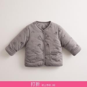 马克珍秋冬装男女宝宝内胆棉衣婴儿可外穿棉服外套 59元