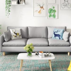 小户型沙发实木框架2人位 1008元