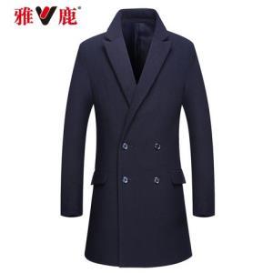 YALU雅鹿MTN06004男士羊毛混纺大衣    165元