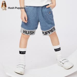 HushPuppies暇步士童装新款儿童五分裤男童短裤运动短裤*3件185.76元(合61.92元/件)