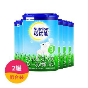 【6罐】诺优能3段800克(新包装)850元包邮(需用券)