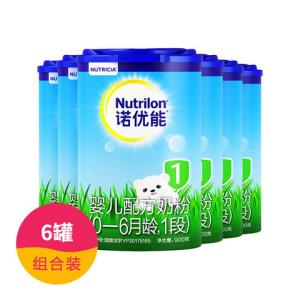 【6罐】诺优能1段900克(新包装)1150元包邮(需用券)