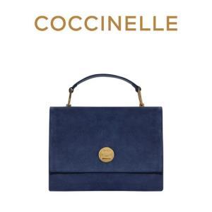 19秋季新品COCCINELLE/可奇奈尔LIYA斜挎包女士牛反绒手提单肩包3150元