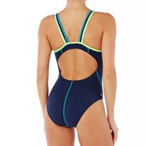 DECATHLON迪卡侬女式抗氯连体泳衣 49.9元