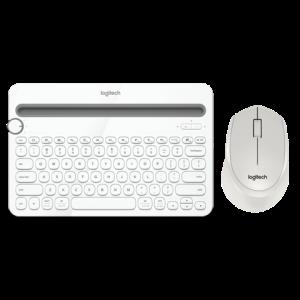 罗技K480无线蓝牙键盘M330鼠标无线键鼠套装笔记本台式电脑商务办公家用男女生通用小巧便携229元