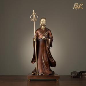 铜师傅全铜摆件《地藏王之一》家居饰品铜工艺品佛像摆件2359元