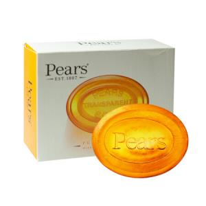 Pears梨牌琥珀橙精油润养水晶皂100g+凑单品11.9元