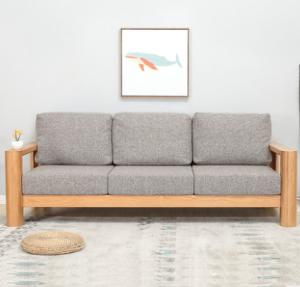 维莎w0568-1日式橡木沙发单人位2148元