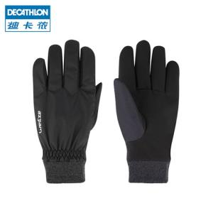 DECATHLON 迪卡侬 WEDZE1 骑行滑雪加绒保暖防泼水手套 低至35.91元